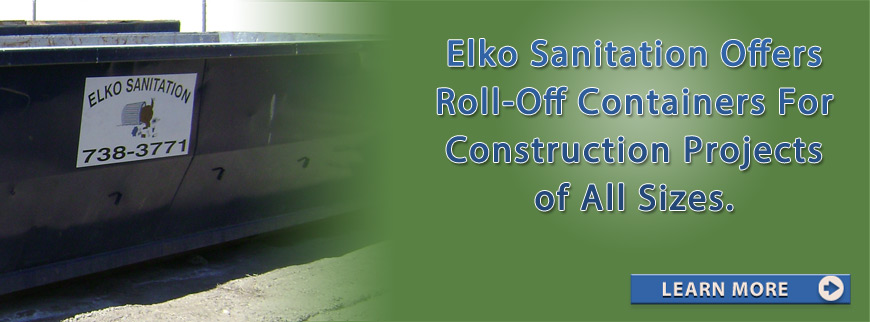 Elko, NV Roll-Off Dumpster Service